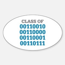 Class Of Sticker (Oval)