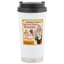 medical alert Travel Mug