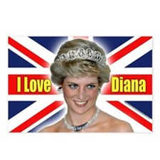 HRH Princess Diana Pro Photo Postcards (Package of
