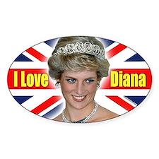 HRH Princess Diana Pro Photo Bumper Stickers