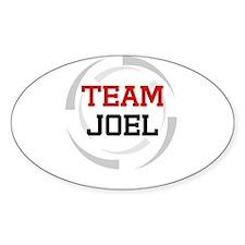 Joel Oval Decal