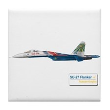 Su-27 Russian Knights Tile Coaster