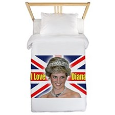 HRH Princess Diana Pro Photo Twin Duvet