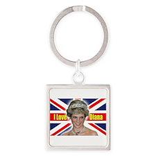 HRH Princess Diana Pro Photo Keychains