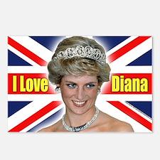 HRH Princess Diana Pro Photo Postcards (Package of