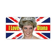 HRH Princess Diana Pro Photo Aluminum License Plat