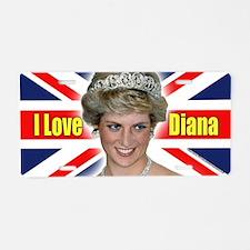 HRH Princess Diana Pro Photo Aluminum License Plat