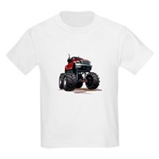 Red Monster Truck T-Shirt