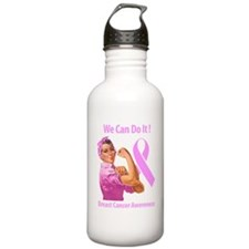 Breast Cancer Awareness Water Bottle