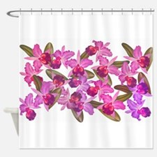 Orchid Flowers Shower Curtain