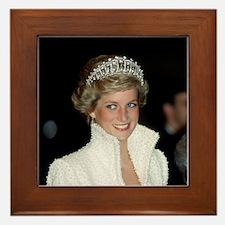 Iconic! HRH Princess Diana Framed Tile