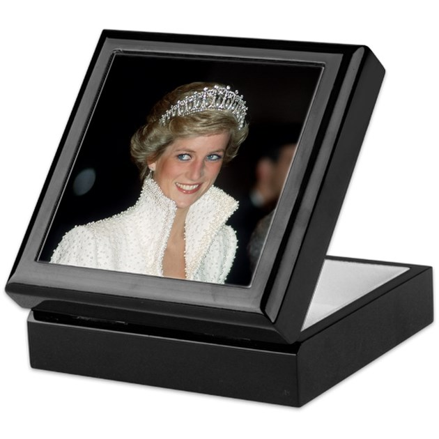Iconic hrh princess diana keepsake box by for Princess diana jewelry box