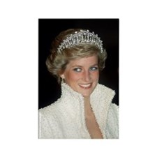 Iconic! HRH Princess Diana Rectangle Magnet
