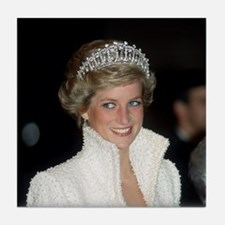 Iconic! HRH Princess Diana Tile Coaster
