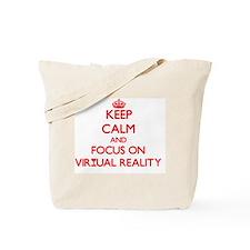 Cute Virtualization Tote Bag