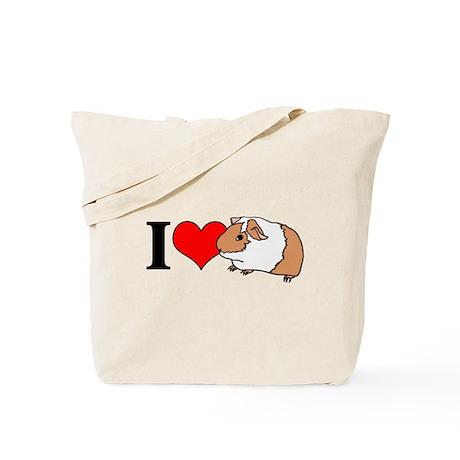 I (Heart) Guinea Pigs! Tote Bag