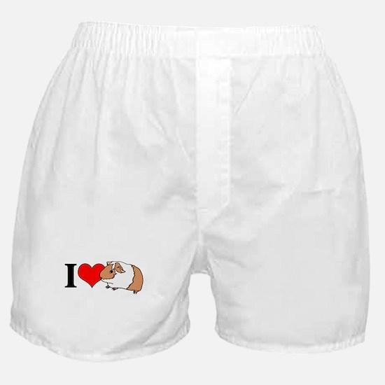 I (Heart) Guinea Pigs! Boxer Shorts