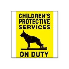 CPS German Shepherd Sticker
