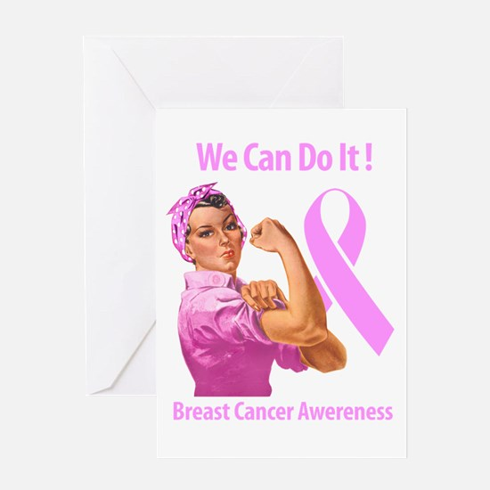 Breast Cancer Awareness Greeting Cards