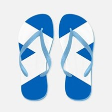 Scottish Flag Flip Flops