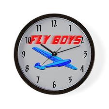 Flyboys Wall Clock