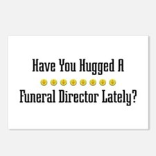 Hugged Funeral Director Postcards (Package of 8)