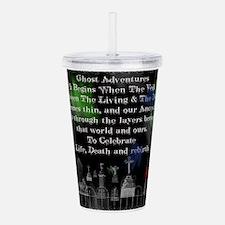 Ghost Among Us5.png Acrylic Double-Wall Tumbler