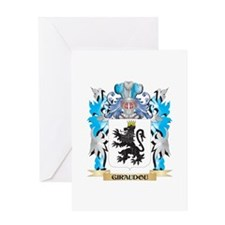 Giraudou Coat of Arms - Family Crest Greeting Card