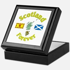 Scotland Forever.:-) Keepsake Box
