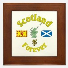 Scotland Forever.:-) Framed Tile