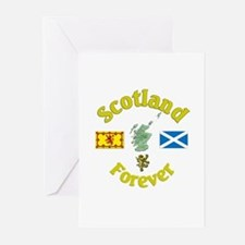 Scotland Forever.:-) Greeting Cards (Pk of 10)