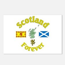 Scotland Forever.:-) Postcards (Package of 8)