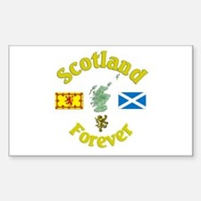 Scotland Forever.:-) Rectangle Decal