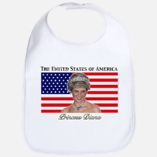 HRH Princess Diana USA Bib