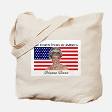 HRH Princess Diana USA Tote Bag