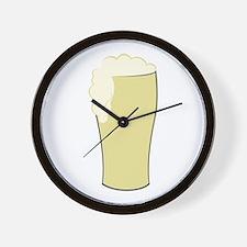 Tall Beer Wall Clock