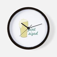 Pint Sized Wall Clock