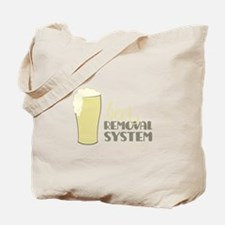 Beer Removal System Tote Bag