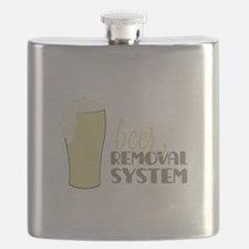 Beer Removal System Flask