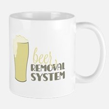 Beer Removal System Mugs