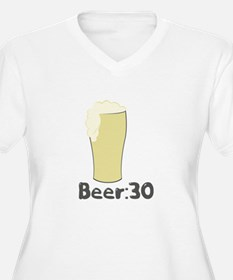 Beer:30 Plus Size T-Shirt