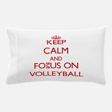Cute Keep calm volleyball Pillow Case