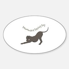 Downward Dog Decal