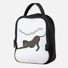 Downward Dog Neoprene Lunch Bag