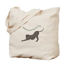 Downward Dog Tote Bag