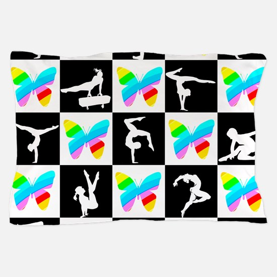 GRACEFUL GYMNAST Pillow Case