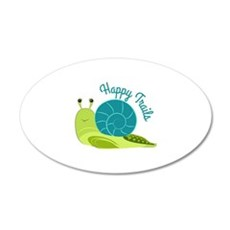 Happy Trails Wall Decal