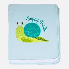 Happy Trails baby blanket