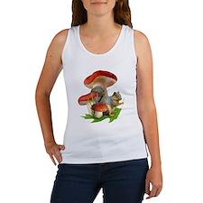 Mushroom Squirrel Women's Tank Top