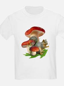 Mushroom Squirrel T-Shirt